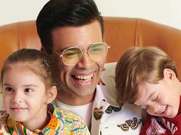 Karan Johar shares yet another cute video of his children