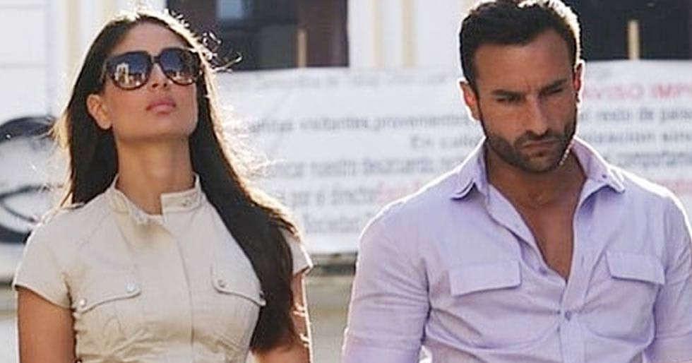 Kareena Kapoor Khanâs throwback picture with beau Saif Ali Khan is too hot