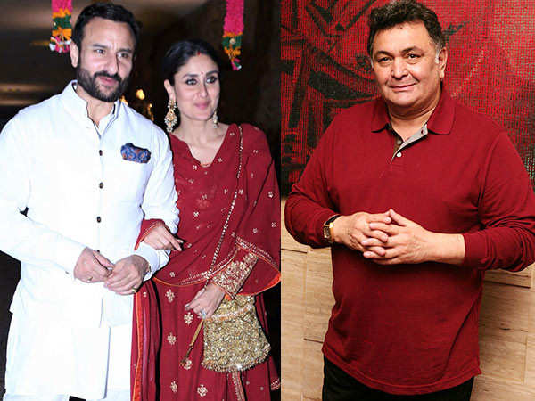 Kareena Kapoor shares a clip featuring her uncle Rishi Kapoor and husband S