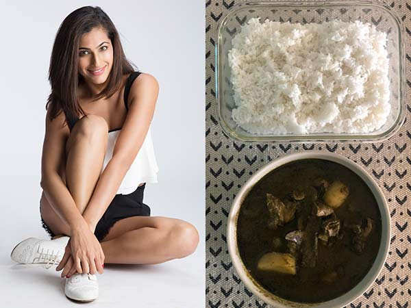 Lockdown Cooking: Kubbra Sait's Hare Masale Ka Gosht recipe