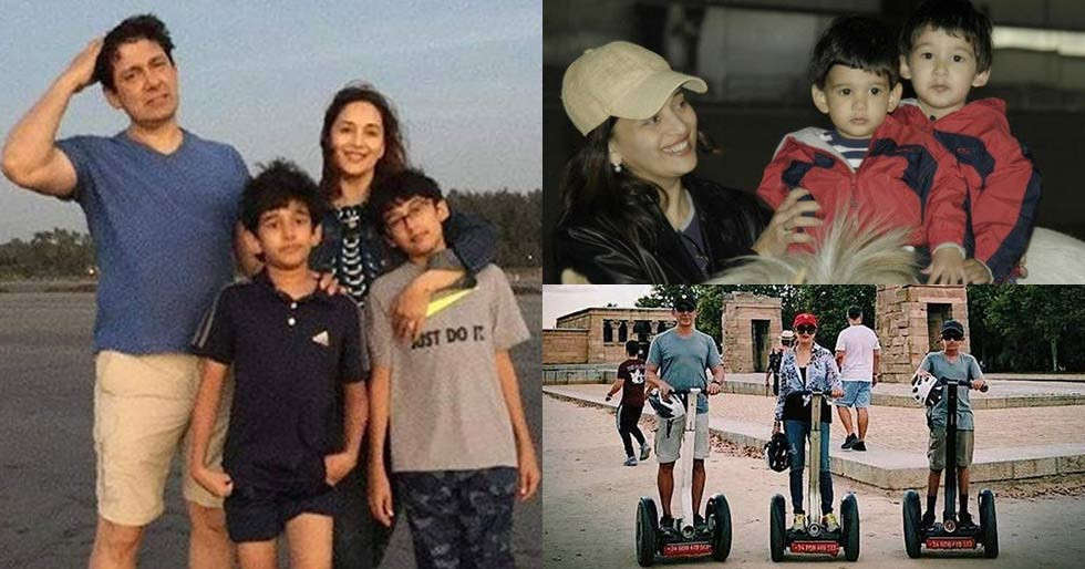 Birthday Special: Rare and unseen picture of Madhuri Dixit with her family