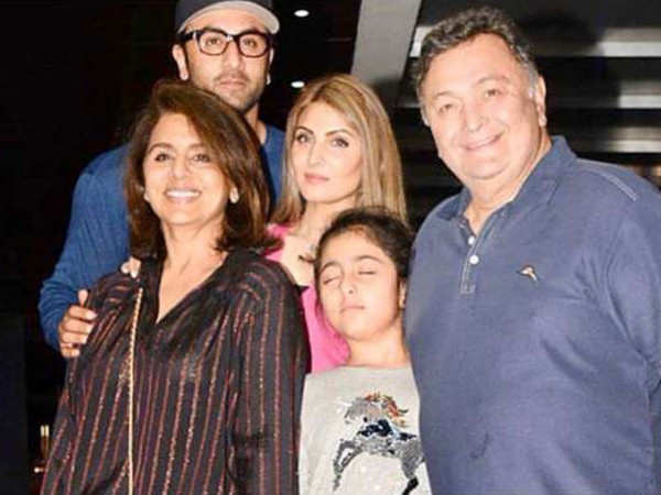 Neetu Kapoor shares memories with the late Rishi Kapoor, Ranbir Kapoor and Ridhima Sahni