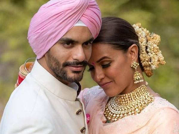 Here's how Neha Dhupia and Angad Bedi plan to celebrate their anniversary
