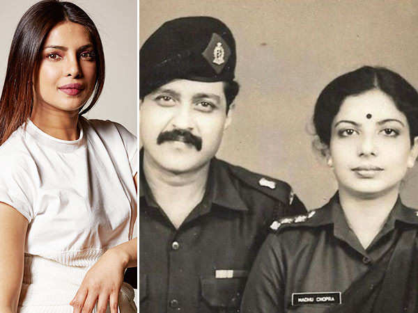 Priyanka Chopra shares a throwback click of her parents with a special message