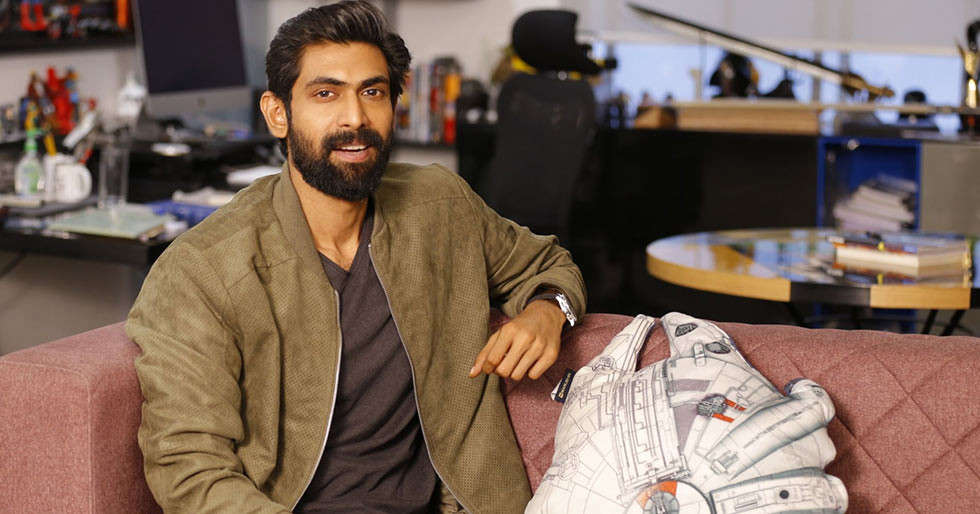 Rana Daggubati remembers his first day of shoot