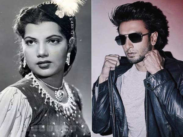 Did you know Ranveer Singh's grandmother Chand Burke was an actress