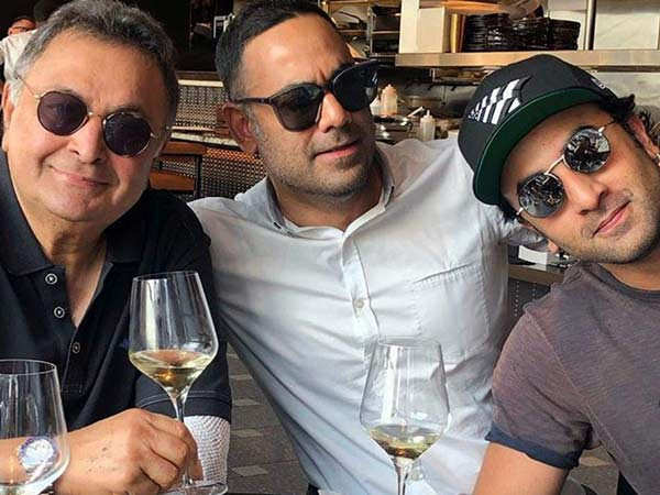 Late Rishi Kapoor's son-in-law Bharat Sahni has this to say about the actor