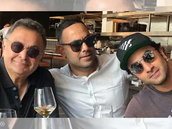 Rishi Kapoor's son-in-law Bharat Sahni shares some lovely memories of the late actor