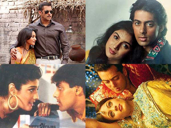 Actresses who made their debuts with Salman Khan