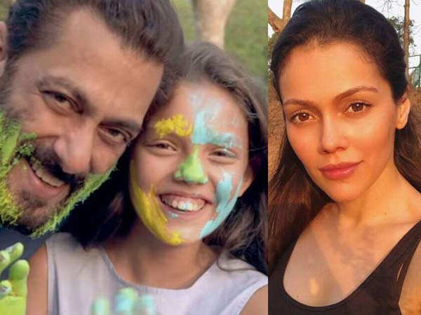 Waluscha De Sousa's daughter makes an appearance alongside Salman Khan in Tere Bina
