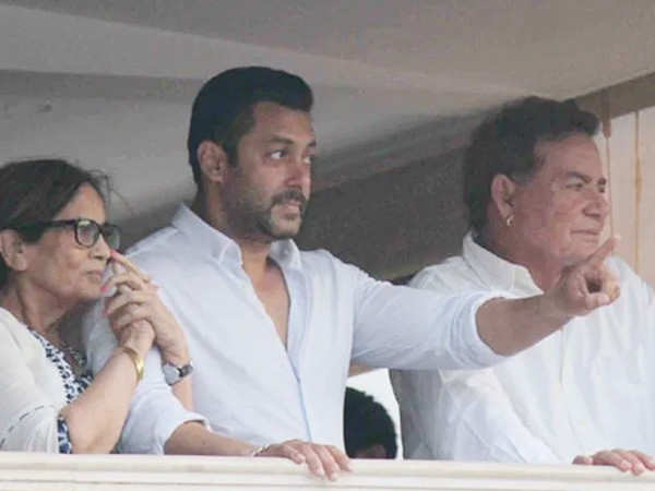 All about Salman Khan's quick visit to his parents