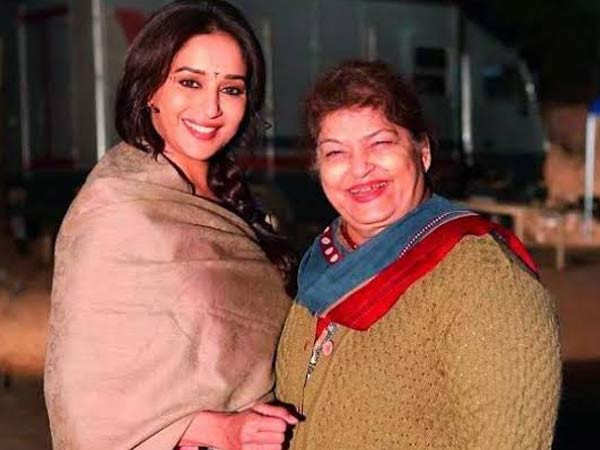 Saroj Khan and Madhuri