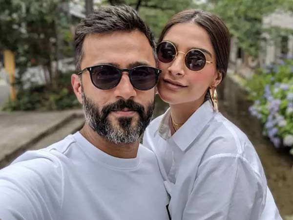 Here's what Sonam Kapoor Ahuja has to say about husband Anand Ahuja