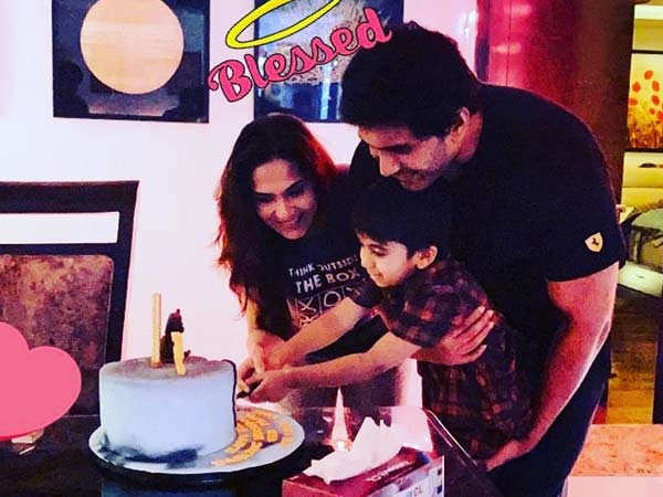 Soundarya Rajinikanth and Vishagan celebrate their son's birthday
