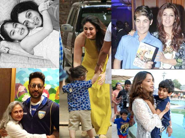 10 cute moments of B-town mothers with their star kids