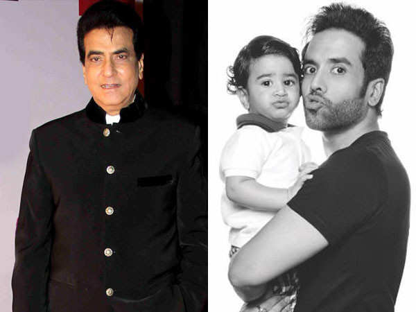 Jeetendra is all praise for son Tusshar Kapoor for being a great father to Laksshya