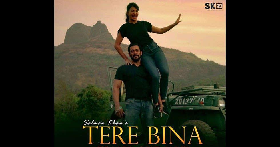Salman Khan shares the teaser of Tere Bina with Jacqueline Fernandez