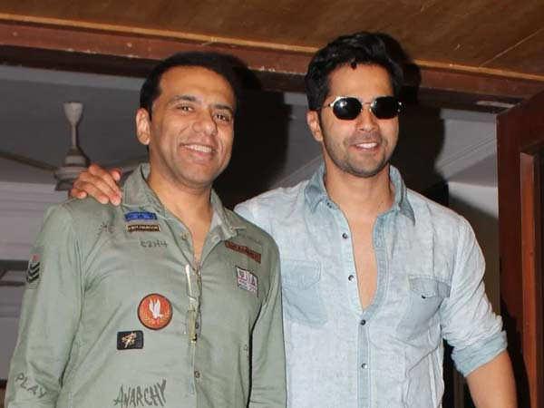 Varun Dhawan wishes filmmaker Farhad Samji a happy birthday
