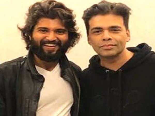 Karan Johar sends birthday wishes to south superstar Vijay Deverakonda
