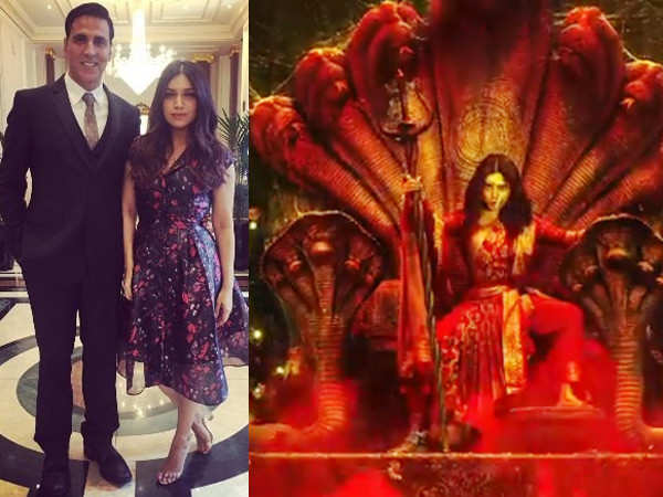 Akshay Kumar and Bhumi Pednekar's Durgamati's motion poster is intriguing