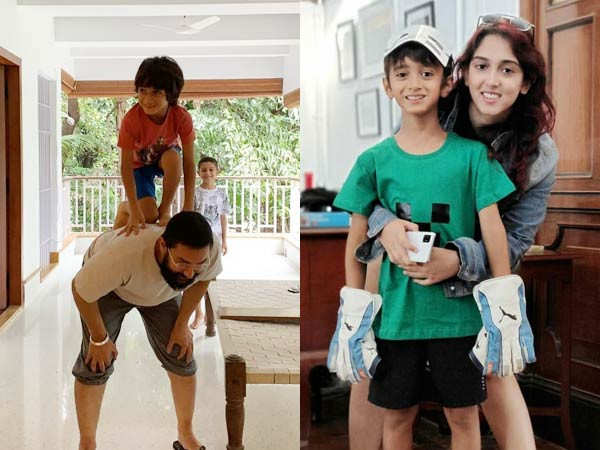 Pictures From Aamir Khan's Son Azad's 9th Birthday