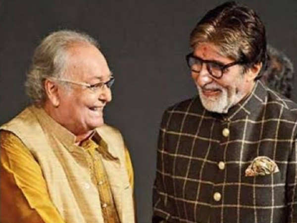 Amitabh Bachchan talks about Soumitra Chatterjee on his blog