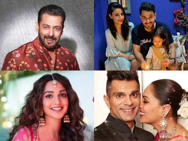 Bollywood stars wish their fans a very happy Diwali through social media