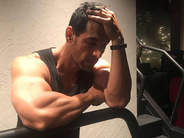 John Abraham's sexy workout click is inspirational