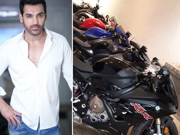 John Abraham gives a glimpse of his super cool bike collection