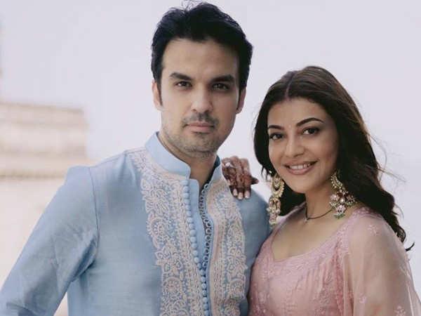 Kajal Aggarwal and Gautam Kitchlu take off for their honeymoon