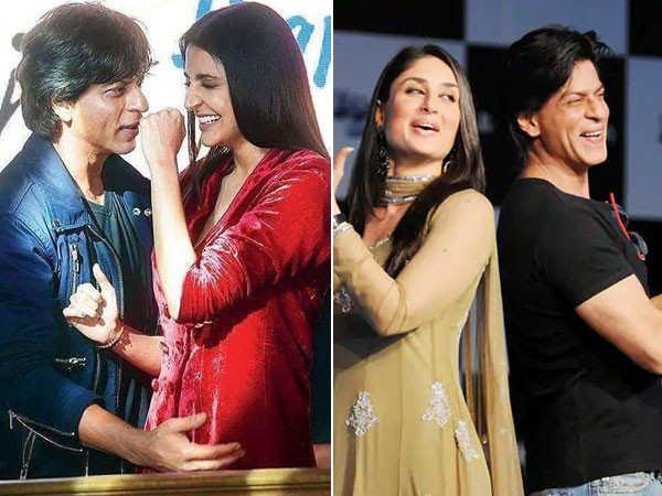 Anushka Sharma and Kareena Kapoor Khan wish Shah Rukh Khan in a special way