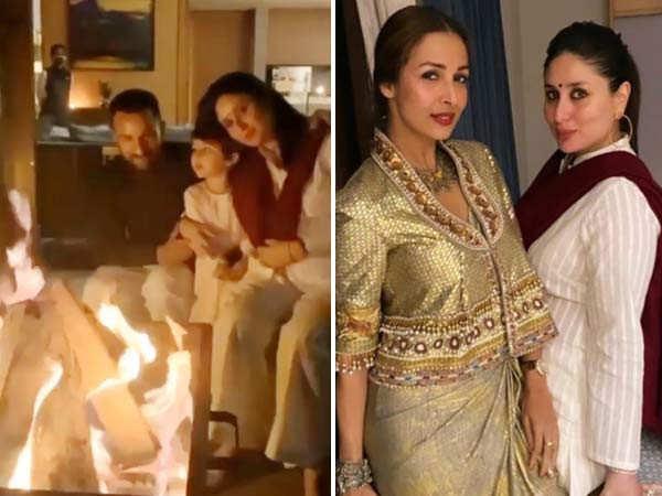 Photos: Here's how Kareena Kapoor Khan and Malaika Arora are celebrating Diwali