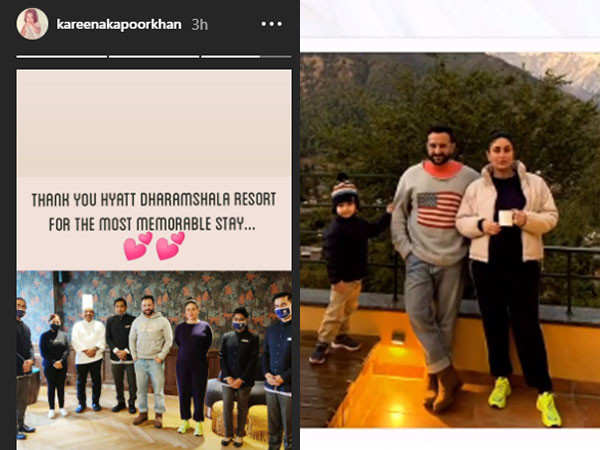 Kareena Kapoor Khan is impressed with the hotel staff in Dharamshala