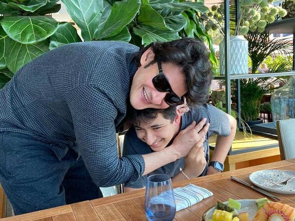 This picture of Mahesh Babu giving a warm hug to his son is all heart