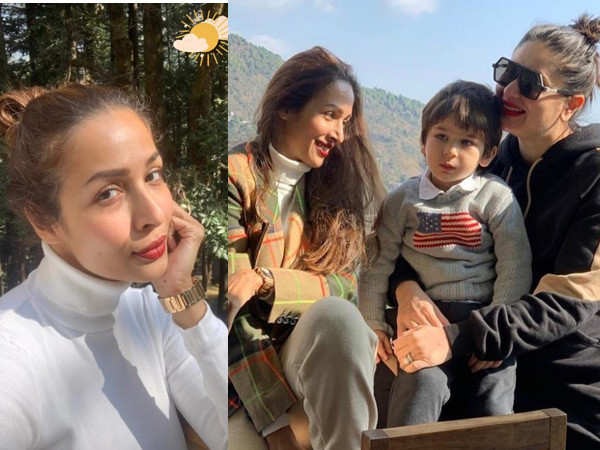 Malaika Arora shares new pictures from her Dharamshala vacation
