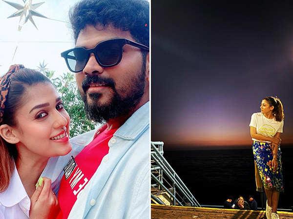 Nayanthara's boyfriend Vignesh Shivan sends a cute birthday wish for her on Instagram