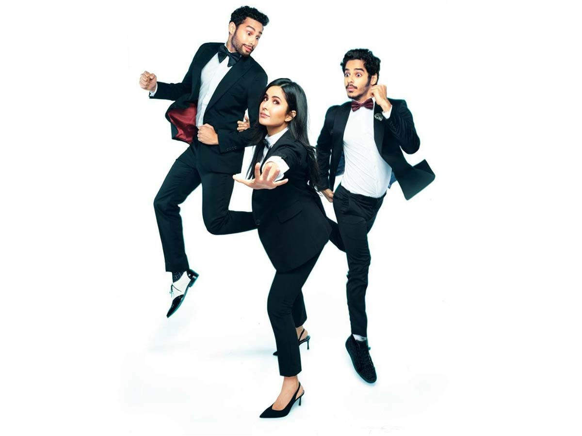 Katrina Kaif, Siddhant Chaturvedi and Ishaan Khatter to begin shooting for  Phone Bhoot by month-end   Filmfare.com