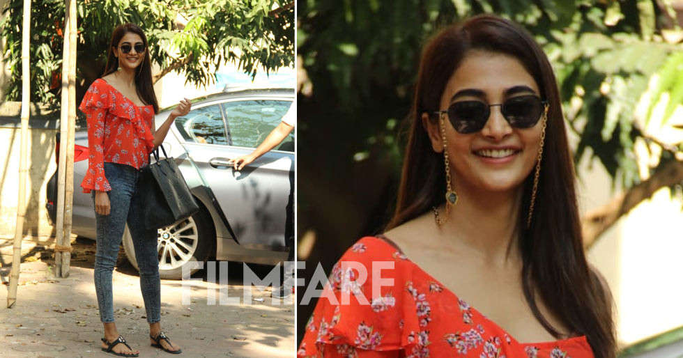 Photos: Pooja Hegde steps out looking stylish in the city