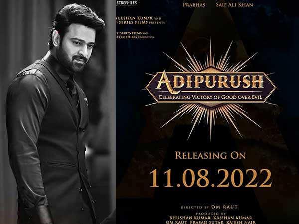 Prabhas Announces The Release Date Of Adipurush
