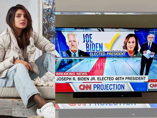 Priyanka Chopra Jonas on Joe Biden becoming the new President of America