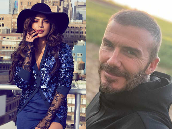 David Beckham welcomes Priyanka Chopra Jonas to British Fashion Council for positive change