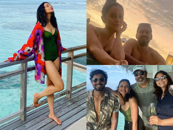 Latest pictures and videos of Rakul Preet Singh enjoying her holiday in the Maldives