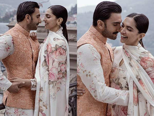 Ranveer Singh and Deepika Padukone treat their fans with new pictures on their anniversary