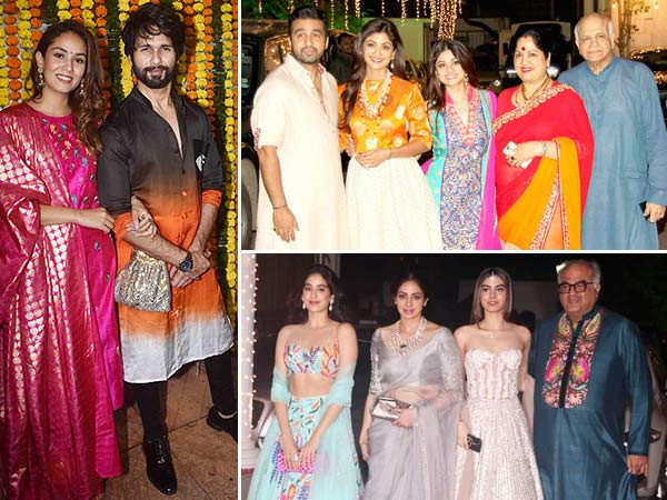 Unmissable pictures from Shilpa Shetty Kundra and Ekta Kapoor's Diwali parties over the years
