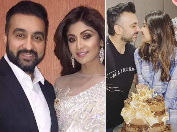 Shilpa Shetty and Raj Kundra celebrate their 11th anniversary at home