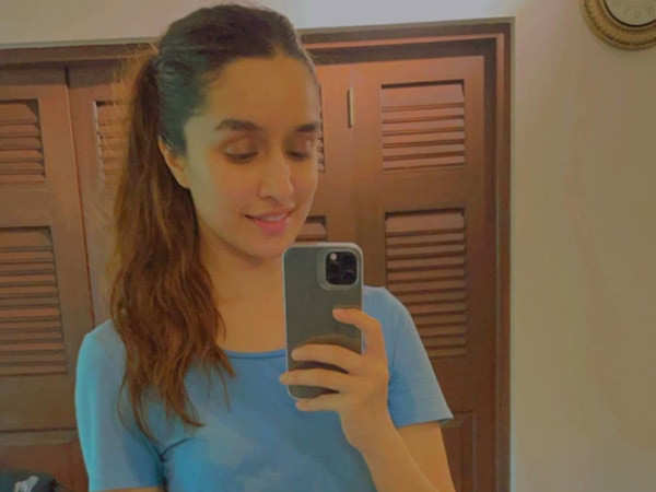 Shraddha Kapoor's workout selfie is out of this world