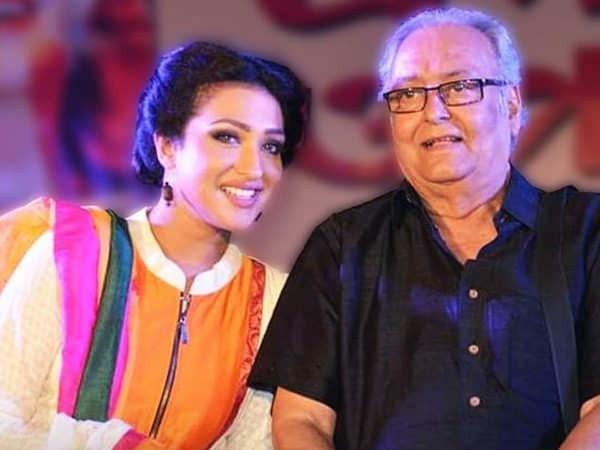 Rituparna Sengupta mourns the loss of Soumitra Chatterjee