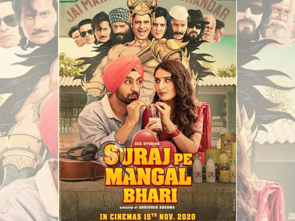 Suraj Pe Mangal Bhari is the First New Film that Will Release in Theatres Post Lockdown