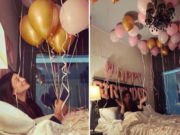 Sushmita Sen shares some lovely stills from her birthday celebration
