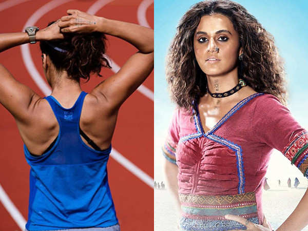 Taapsee Pannu flaunts her fit avatar as she starts shooting for Rashmi Rocket